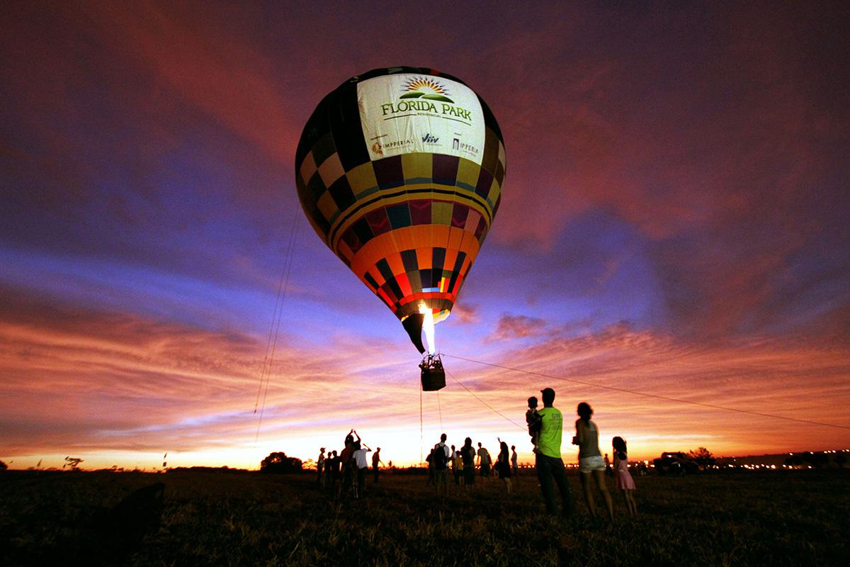 Balão Lançamento